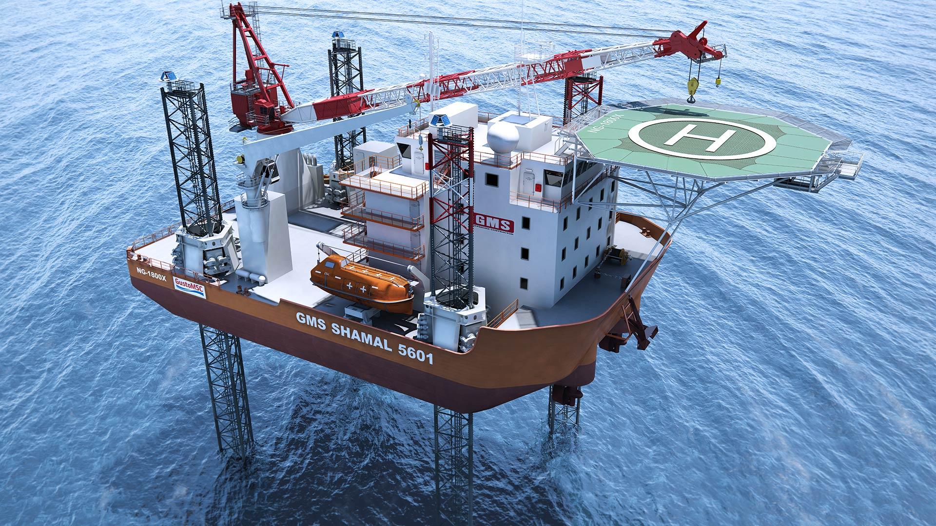 GMS | E-Class & S-Class Jack-up Barges - C-Job