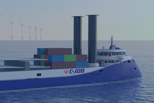 R&D Project  |  flettner freighter