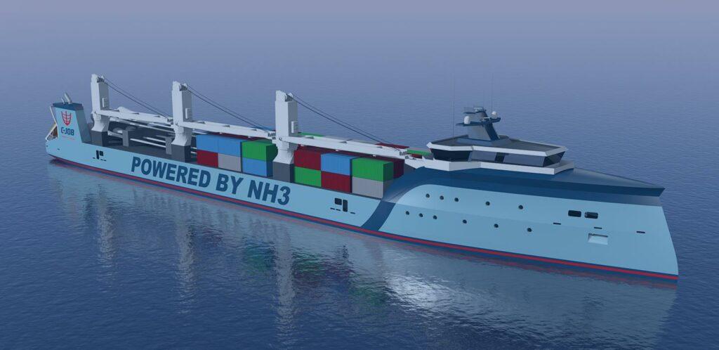 Ammoniak als brandstof voor schepen: C-Job denkt toekomst gericht