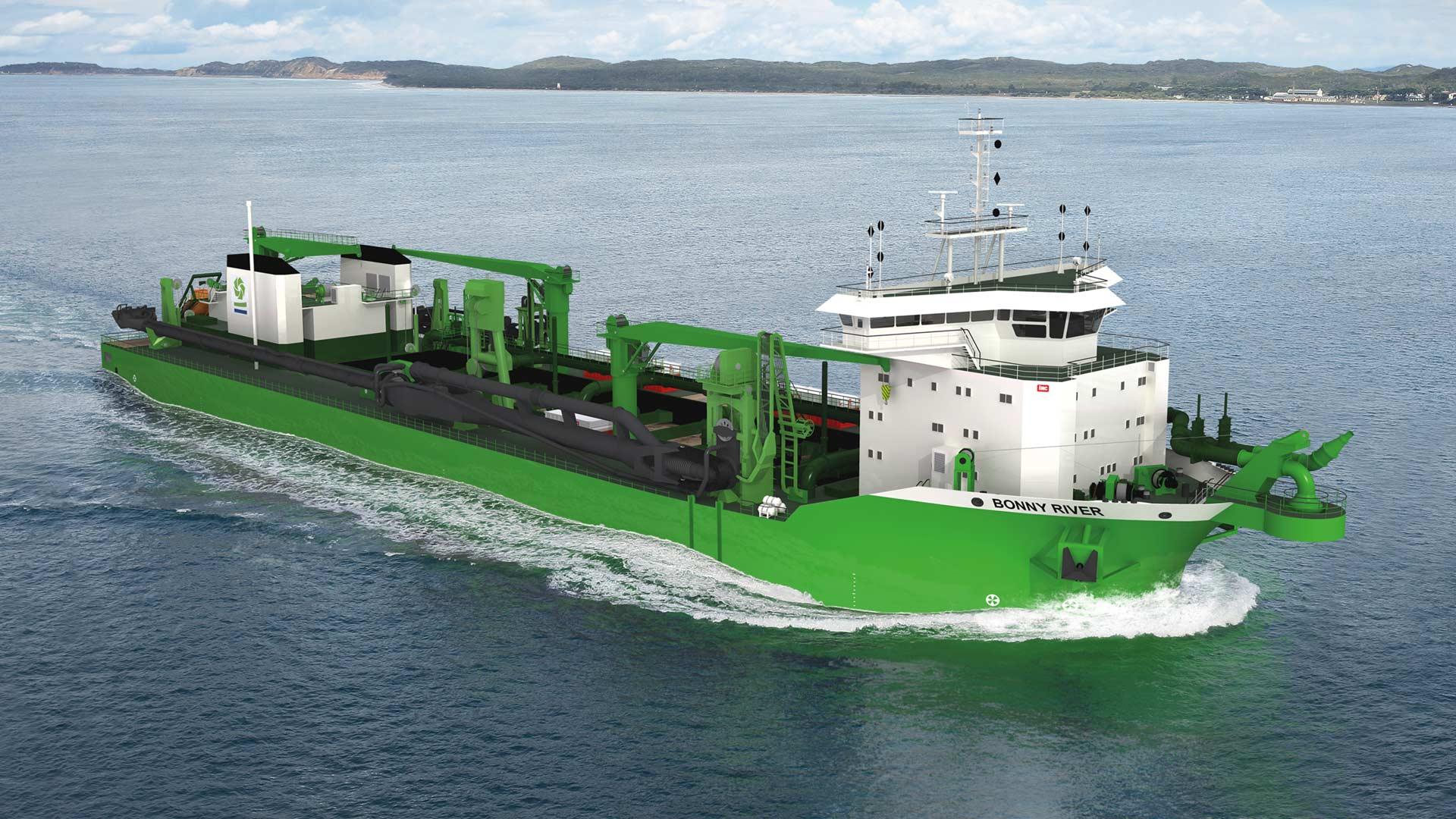 c-job-project-ship-design-project-dredger-bonny-river - C-Job