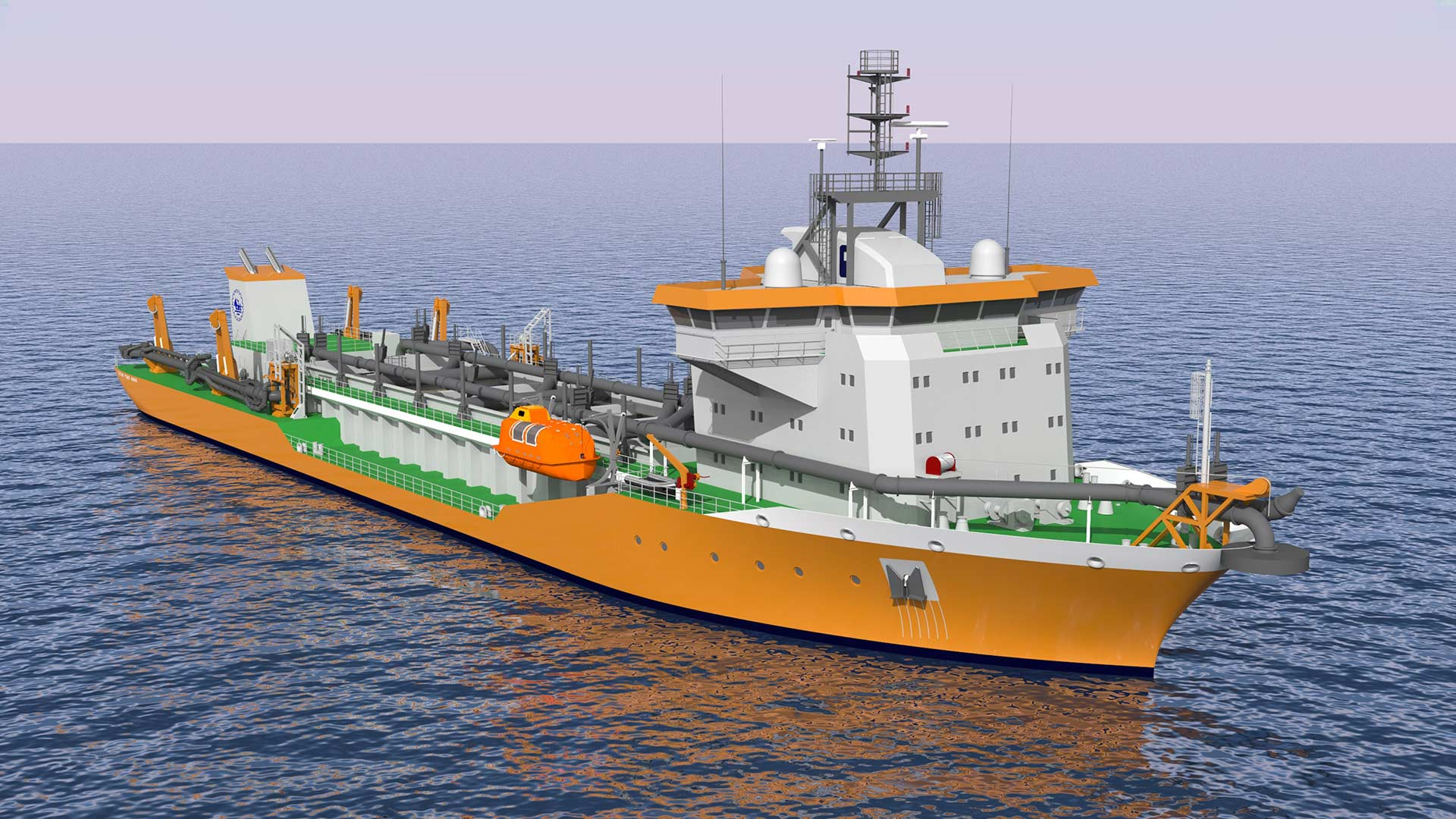 c-job-project-ship-design-project-dredger-tshd-cochin - C-Job