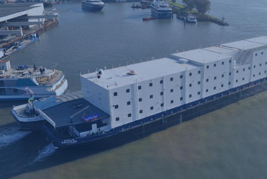 HOLLAND SHIPYARDS | Accommodation Barge