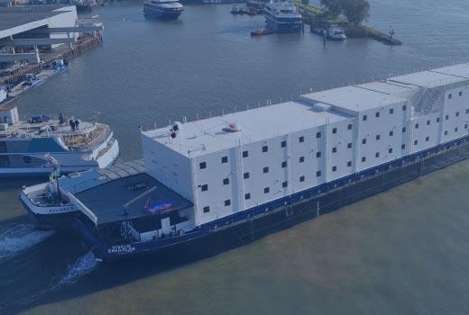 HOLLAND SHIPYARDS | Accommodation Barge