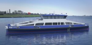 C-Job has designed a series of five sustainable car and passenger ferries for the GVB Amsterdam
