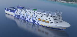 Powered by ammonia | the next step for the ferry and cruise industry