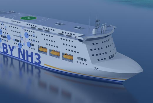 R&D Project | NH3 Powered Ferry & Cruise vessels