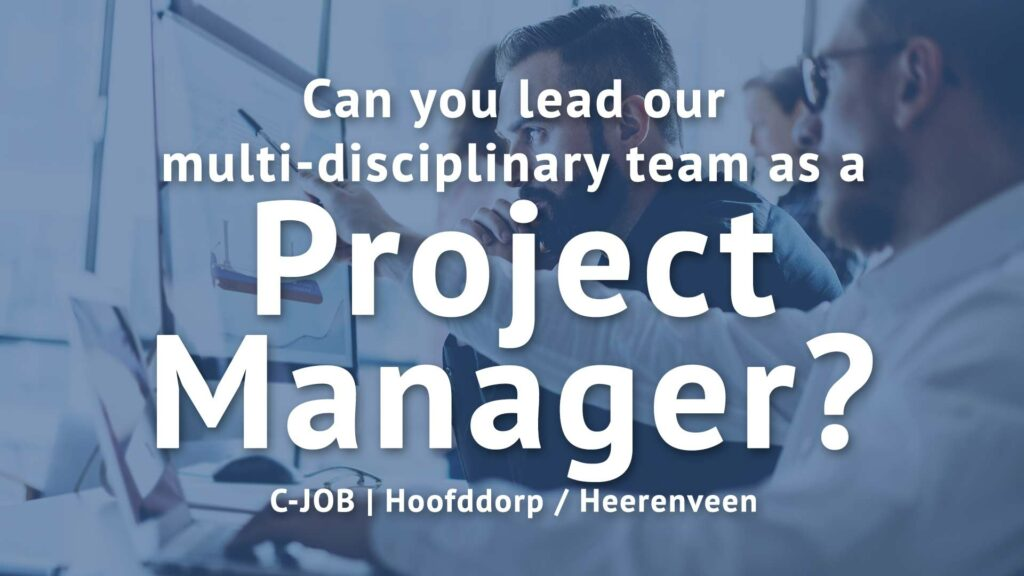 Project Manager - Hoofddorp - C-Job