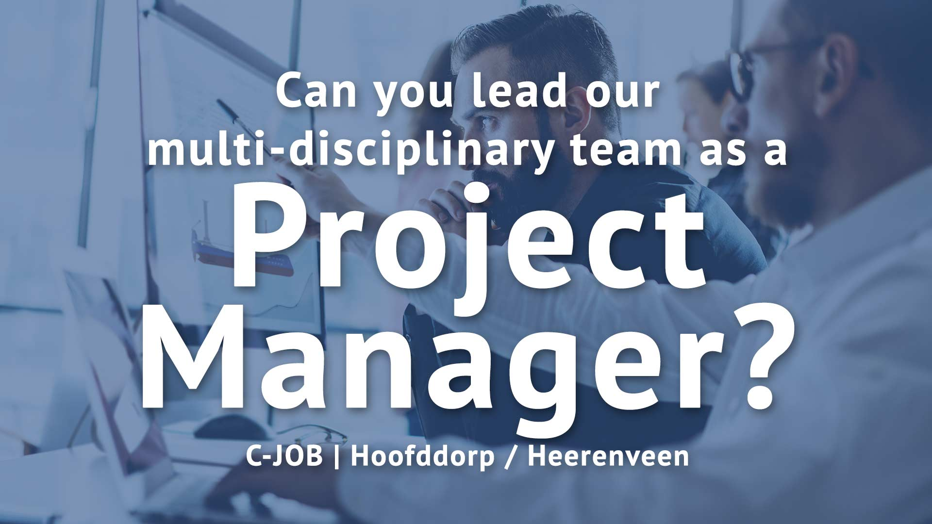 Project Manager - C-Job